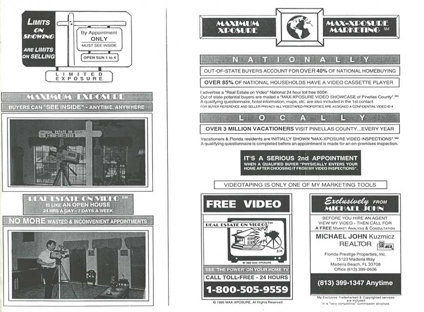 Real Estate on Video in 1995